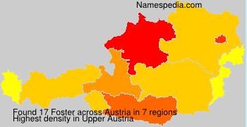 Surname Foster in Austria