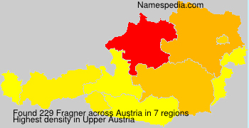 Surname Fragner in Austria
