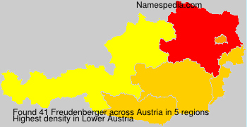 Familiennamen Freudenberger - Austria