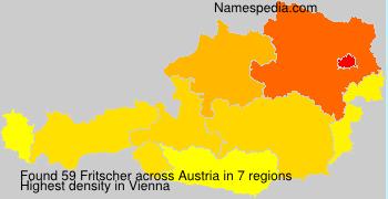 Surname Fritscher in Austria