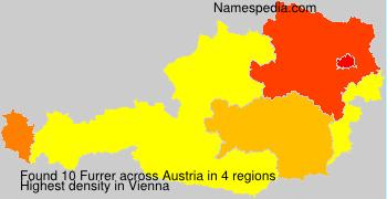 Familiennamen Furrer - Austria