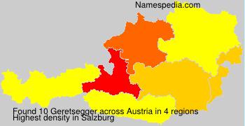 Surname Geretsegger in Austria