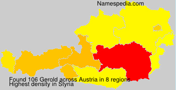 Familiennamen Gerold - Austria