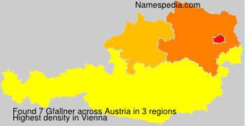 Surname Gfallner in Austria