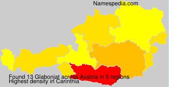 Surname Glabonjat in Austria