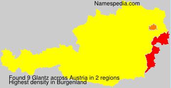 Surname Glantz in Austria