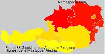 Familiennamen Glockl - Austria