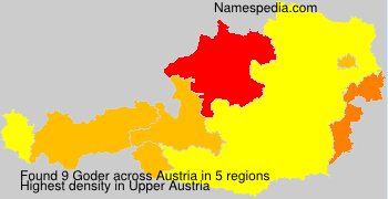 Surname Goder in Austria