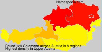 Familiennamen Goldmann - Austria
