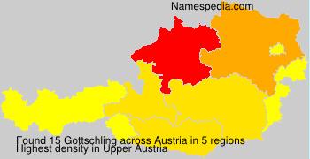 Familiennamen Gottschling - Austria