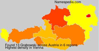 Surname Grabowski in Austria