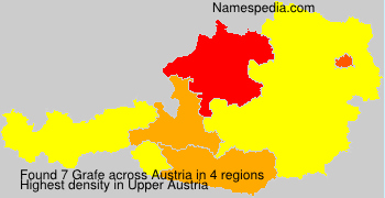 Surname Grafe in Austria