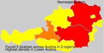 Surname Graham in Austria