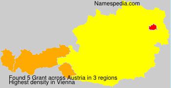 Surname Grant in Austria