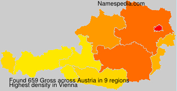Surname Gross in Austria