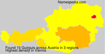 Surname Guirguis in Austria