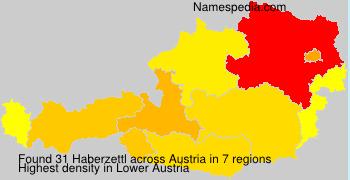Surname Haberzettl in Austria