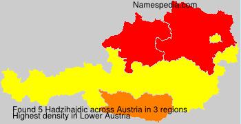 Familiennamen Hadzihajdic - Austria