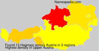 Surname Hagmayr in Austria