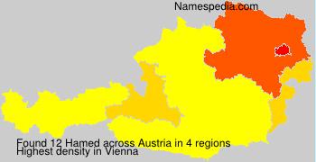 Surname Hamed in Austria