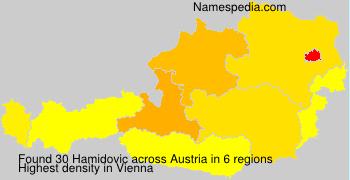 Surname Hamidovic in Austria