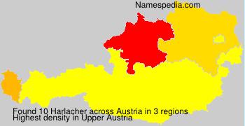 Surname Harlacher in Austria