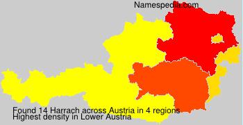 Familiennamen Harrach - Austria