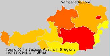 Surname Hart in Austria