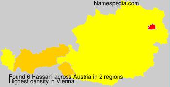 Surname Hassani in Austria