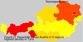 Surname Hauschild in Austria
