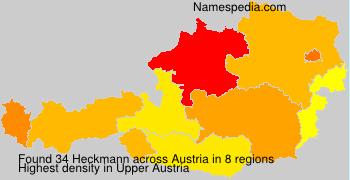 Surname Heckmann in Austria