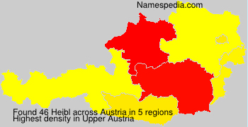 Surname Heibl in Austria