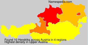 Surname Hendriks in Austria