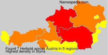 Surname Herbold in Austria