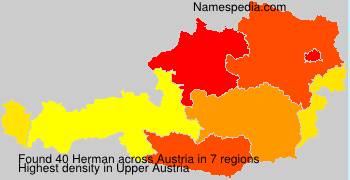 Surname Herman in Austria
