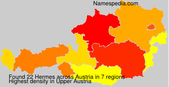 Surname Hermes in Austria