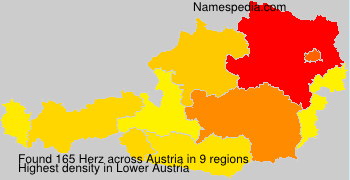 Surname Herz in Austria