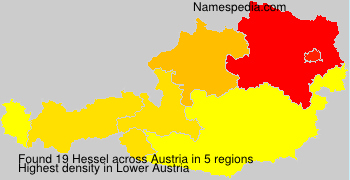 Surname Hessel in Austria