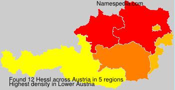 Surname Hessl in Austria