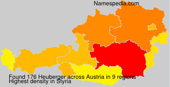 Surname Heuberger in Austria