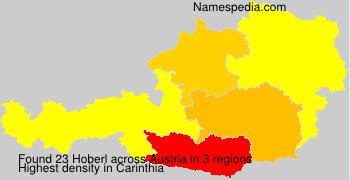 Surname Hoberl in Austria