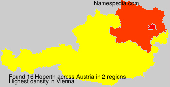 Surname Hoberth in Austria