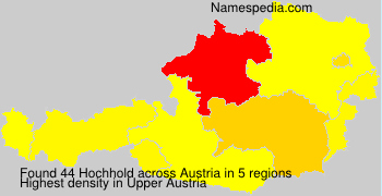 Surname Hochhold in Austria