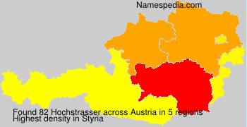Familiennamen Hochstrasser - Austria