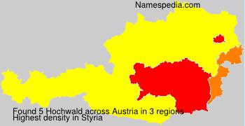 Surname Hochwald in Austria