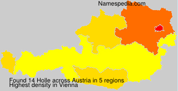 Surname Holle in Austria