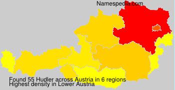 Surname Hudler in Austria