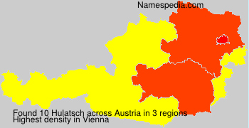Familiennamen Hulatsch - Austria