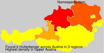 Familiennamen Hutterberger - Austria