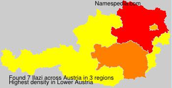 Surname Ilazi in Austria